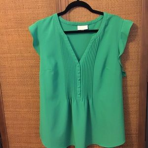 Kelly Green ModCloth Blouse